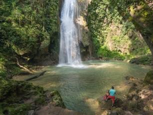 Cascada de Chuveje near Jalpan