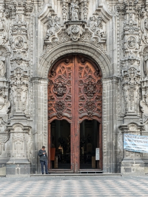 Catedral Metropolitano Door