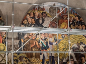 Diego Rivera Mural, Palacio Nacional