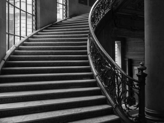 Stairs in the Museo Nacional de Arte