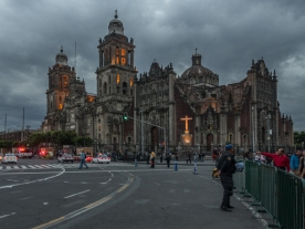 Catedral Metropolitana at Dusk
