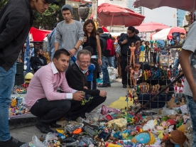 Flea market for toys