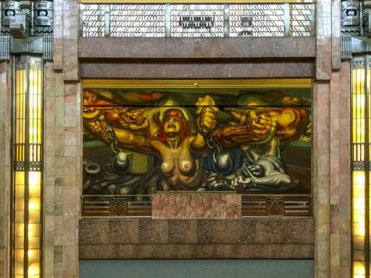Siqueiros mural