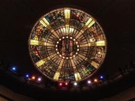 The theatre's dome