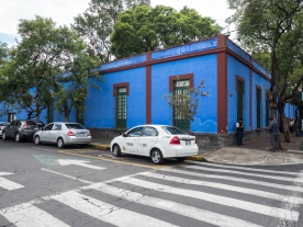 Casa Azul - Frida Kahlo and Diego Rivera's House, now the Museo. It was originally the Kahlo family home.
