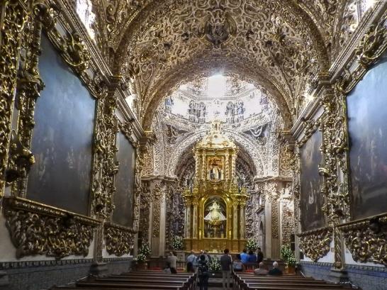 El Rosario Chapel, Puebla