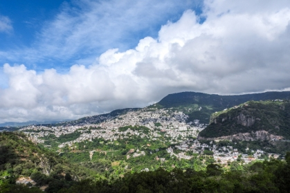 Taxco from a distance