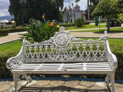Mexico: Home of the world's most uncomfortable park bench