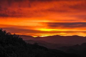 Sunrise at Hierve El Agua