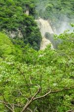 One of the falls at El Chiflón