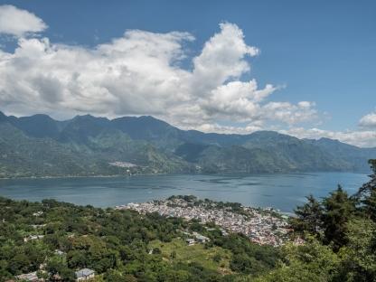 San Pedro la Laguna from El Mirador