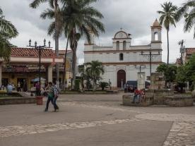 Copan Ruinas' Central Plaza