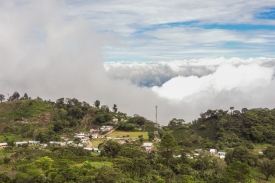 El Cedral - The village we hiked from to the cloud forest.