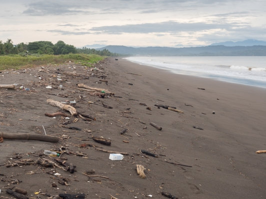 Puntarenas is not know for its beaches.