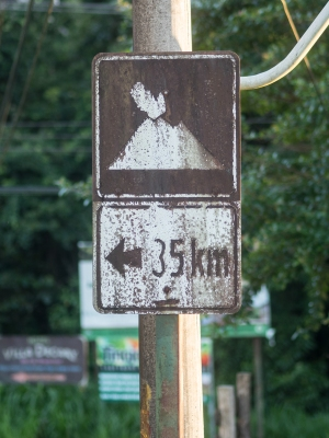 Directions to an erupting volcano?