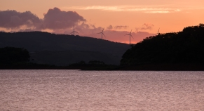 Sunset at Lago Arenal