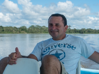 Marlon - Our chilled-out boat driver