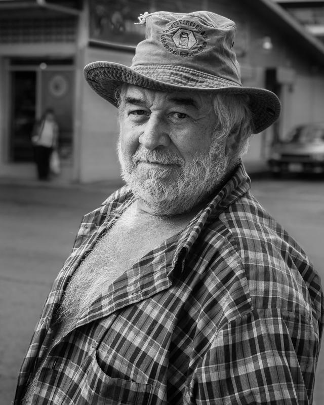 Zarcero Street Portrait