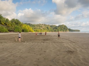 Uvita: Football on the Beach