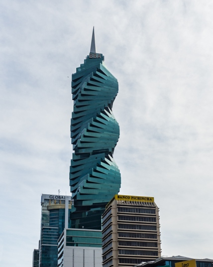 Panama City - The iconic F & F Tower