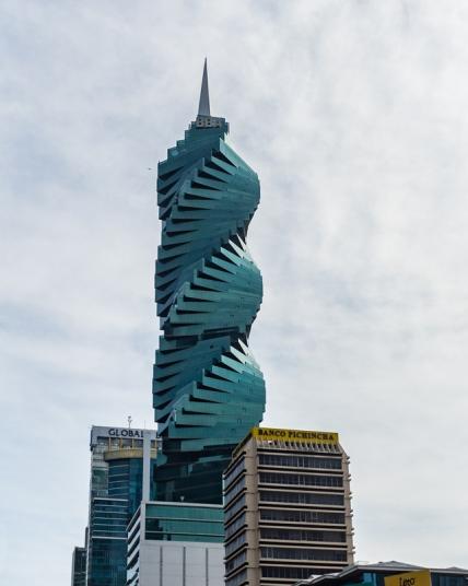 Panama City - The iconic F & F Tower