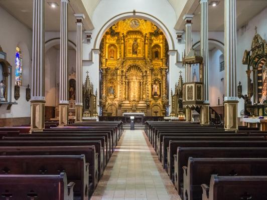 Casco Viejo - Iglesia de San Jose - Altar de Oro
