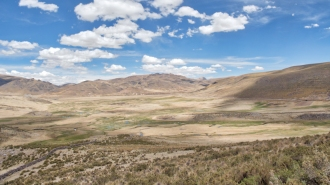 The vastnes of the altiplano.