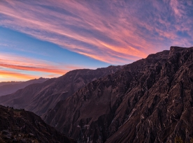 Colca Canyon Sunset